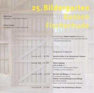 25. Bildergarten in Bassen und Fischerhude